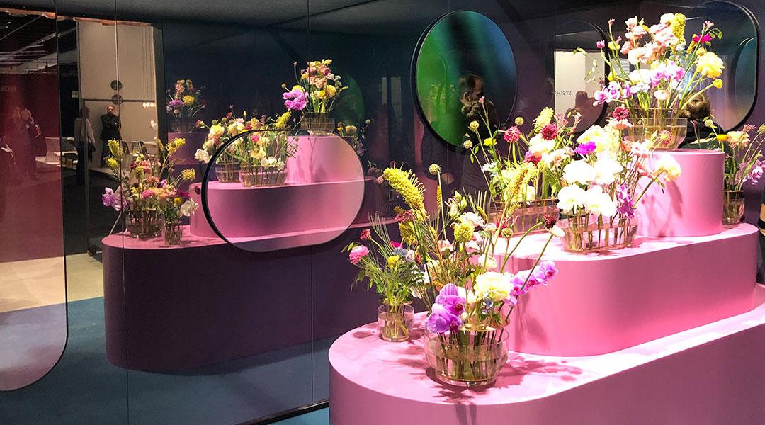 Retail Design Interior in Pastellrosa - einer der Farbtrends 2021