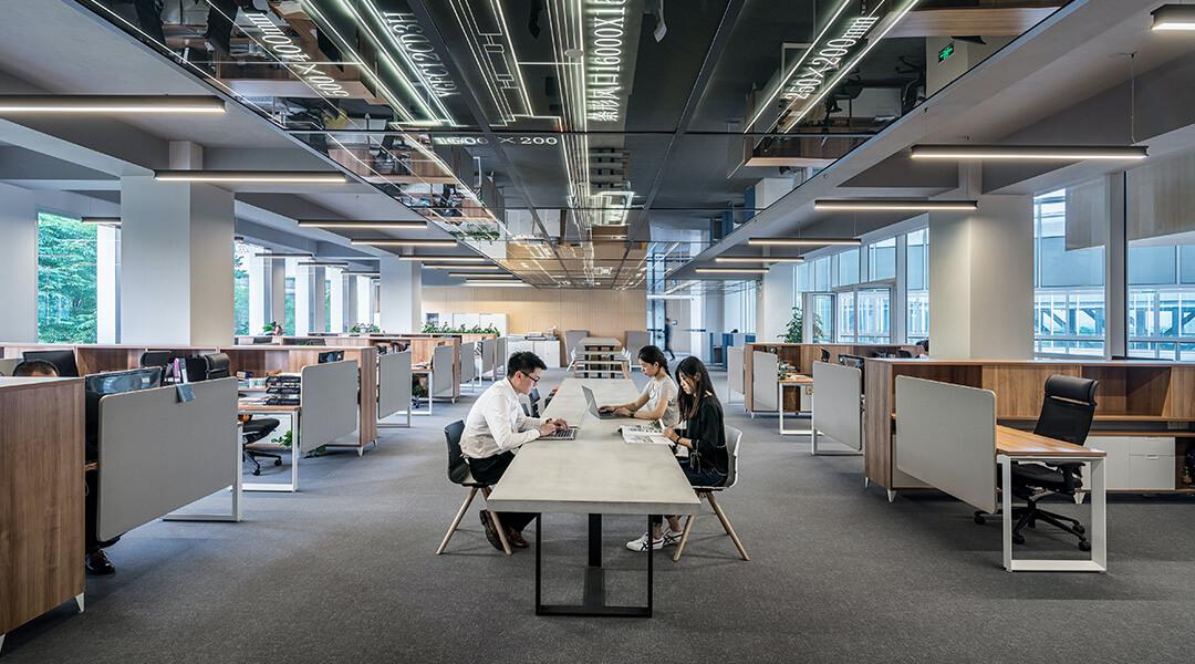 Firmenzentrale als Sitz der Führungskompetenz