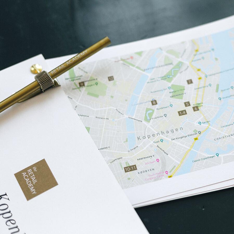 Retail Tour Karte