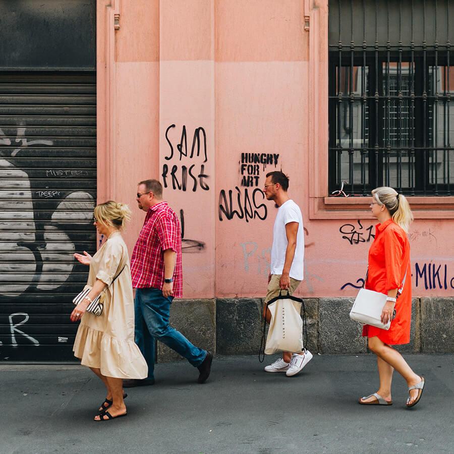 Retail Touren Walking