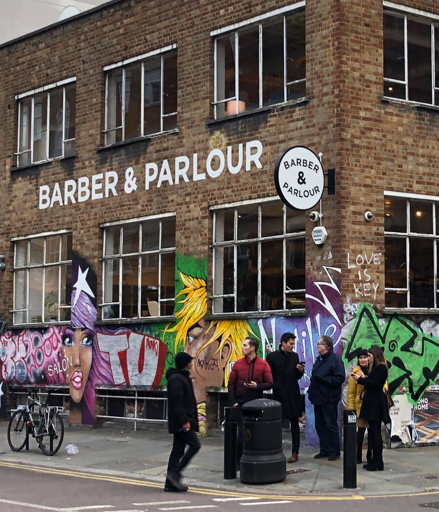 REWE Retail Tour London Barber